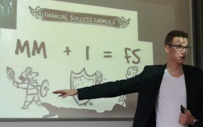 Predavanje LEONA CIGLARJA o financah